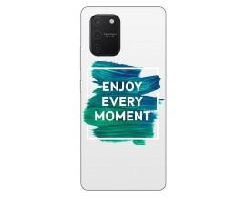 Husa Silicon Soft Upzz Print Samsung Galaxy S10 Lite Model Enjoy