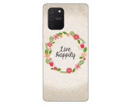 Husa Silicon Soft Upzz Print Samsung Galaxy S10 Lite Model Happily