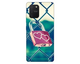 Husa Silicon Soft Upzz Print Samsung Galaxy S10 Lite Model Heart Lock