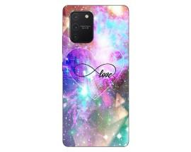 Husa Silicon Soft Upzz Print Samsung Galaxy S10 Lite Model Neon Love