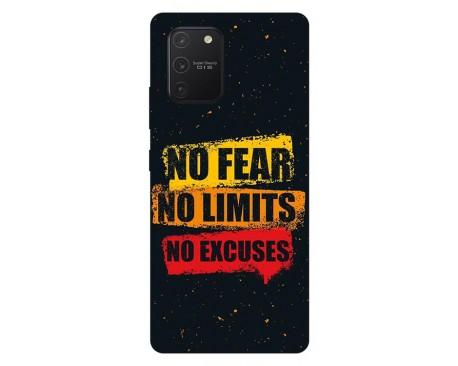 Husa Silicon Soft Upzz Print Samsung Galaxy S10 Lite Model No Fear