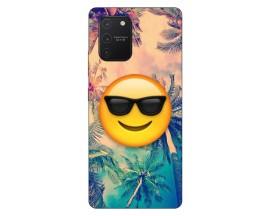 Husa Silicon Soft Upzz Print Samsung Galaxy S10 Lite Model Smile
