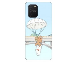 Husa Silicon Soft Upzz Print Samsung Galaxy S10 Lite Model Three Bears