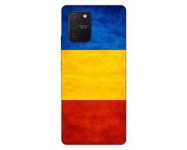 Husa Silicon Soft Upzz Print Samsung Galaxy S10 Lite Model Tricolor