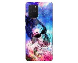 Husa Silicon Soft Upzz Print Samsung Galaxy S10 Lite Model Universe Girl