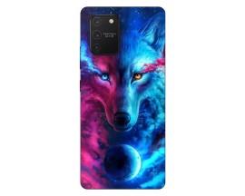 Husa Silicon Soft Upzz Print Samsung Galaxy S10 Lite Model Wolf