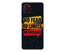 Husa Silicon Soft Upzz Print Samsung Galaxy Note 10 Lite Model No Fear