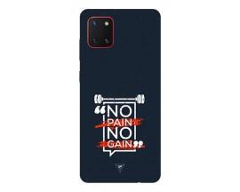 Husa Silicon Soft Upzz Print Samsung Galaxy Note 10 Lite Model Pain