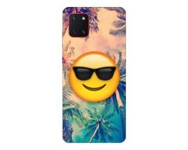 Husa Silicon Soft Upzz Print Samsung Galaxy Note 10 Lite Model Smile