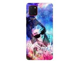 Husa Silicon Soft Upzz Print Samsung Galaxy Note 10 Lite Model Universe Girl