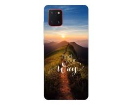 Husa Silicon Soft Upzz Print Samsung Galaxy Note 10 Lite ModelWay