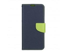 Husa Flip Carte Fancy Book Samsung Galaxy A11 ,Albastru Verde