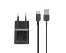 Set Incarcator Si Cablu Date Originale Samsung Galaxy S10/s10+/s10e ,2a Fast Charger -ep-ta200ebe+ep-dg970bbe
