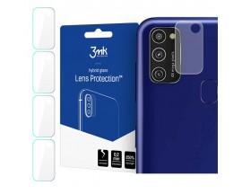Set 4 X Folie Sticla Nano Glass 3mk Pentru Camera Samsung Galaxy A21s, Transparenta