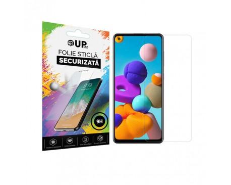 Folie Sticla Securizata 9h Upzz Samsung Galaxy A21s Transparenta