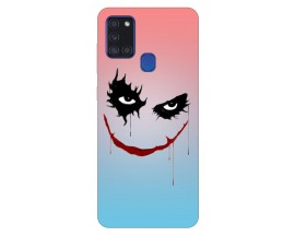 Husa Silicon Soft Upzz Print Samsung Galaxy A21s Model Joker