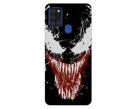 Husa Silicon Soft Upzz Print Samsung Galaxy A21s Model Monster