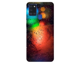 Husa Silicon Soft Upzz Print Samsung Galaxy A21s Model Multicolor