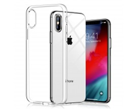 Husa Spate Silicon Ultra Slim Upzz iPhone Xs Max , Silicon , Transparenta