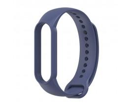 Curea Upzz Tech Icon Compatibila Cu Xiaomi Mi Band 5 ,Navy Blue