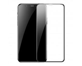 Folie Sticla Securizata Premium 5d Baseus iPhone 11 Pro / Xs Full Cover ,full Glue-2 Bucati In Pachet