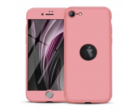 Husa 360 Grade Upzz Protection iPhone Se 2 ( 2020 ) , Roz