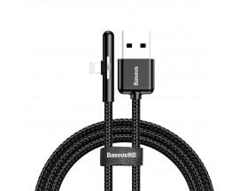 Cablu De Date Baseus Pentru iPhone Cu Port Lightning Negru 1m Iridescent Lamp Gaming CAL7C-A01