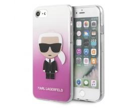 Husa Spate Premium Karl Lagerfeld iPhone Se 2 ( 2020 ), Gradient Ikonik Karl -KLHCI8TRDFKPI