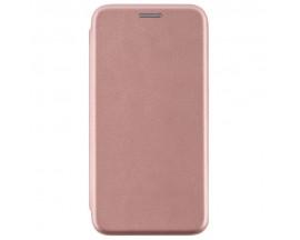 Husa Flip Carte Cu Magnet Lux Upzz Compatibila Cu Huawei Y6P ,Rose Gold