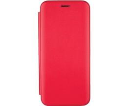 Husa Flip Carte Cu Magnet Lux Upzz Compatibila Cu Huawei Y6P ,Rosu