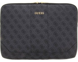 Husa Originala Guess Sleeve Leather Compatibila Cu Laptop/Macbook Pro/Air 13inch, Gri