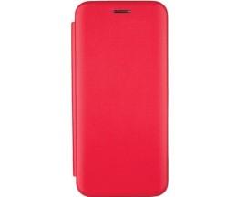 Husa Flip Carte Cu Magnet Lux Upzz Samsung Galaxy M21 ,rosu