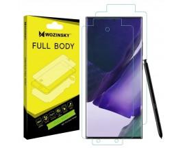 Folie Fata Spate si Laterale Wozinsky Full Cover Regenerabila Samsung Galaxy Note 20 Ultra Transparenta ,Silicon