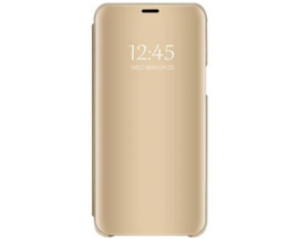 Husa Flip Cover Upzz Mirror Huawei Y5P ,Gold