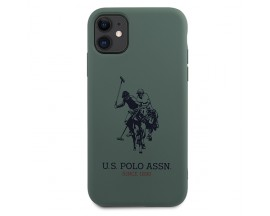 Husa Premium Originala Us Polo Assn iPhone 11 , Verde -USHCN61SLHRGN
