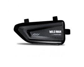 Geanta Bicicleta Impermeabila Pentru Cadru Marime L - WildMan E4 Negru