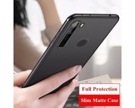 Husa Spate Upzz Ultra Slim Pro Xiaomi Note 8T , Negru Super Slim