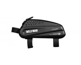 Geanta Bicicleta Impermeabila Pentru Cadru  - Wildman Ex Negru