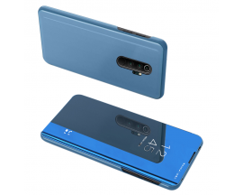 Husa Tip Carte Upzz View Mirror Xiaomi Redmi Note 8 Pro Blue