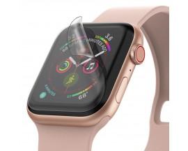 Folie Silicon Ultra Rezistenta Ringke Easy Flex Compatibila Cu Apple Watch 4/5 44mm ,Transparenta,3 Bucati In Pachet