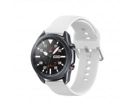 Curea Ceas Upzz Tech Iconband Compatibila Cu Samsung Galaxy Watch 3, 45mm ,Alb