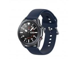 Curea Ceas Upzz Tech Iconband Compatibila Cu Samsung Galaxy Watch 3, 45mm ,navy Blue