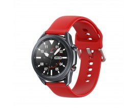 Curea Ceas Upzz Tech Iconband Compatibila Cu Samsung Galaxy Watch 3, 45mm ,red