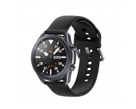 Curea Ceas Upzz Tech Iconband Compatibila Cu Samsung Galaxy Watch 3, 45mm , Negru