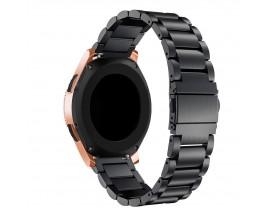 Curea Ceas Upzz Tech Stainless Compatibila Cu Samsung Galaxy Watch 3, 41mm , Negru