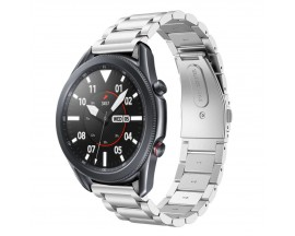 Curea Ceas Upzz Tech Stainless Compatibila Cu Samsung Galaxy Watch 3, 45mm , Silver