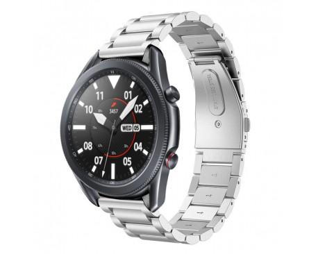 Curea Ceas Upzz Tech Stainless Compatibila Cu Samsung Galaxy Watch 3, 45mm , Silver