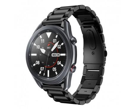 Curea Ceas Upzz Tech Stainless Compatibila Cu Samsung Galaxy Watch 3, 45mm , Negru