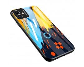 Husa Spate Upzz Gradient Glass Pentru Xiaomi Redmi Note 9 Pro / Redmi Note 9S pattern 1