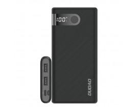 Baterie Externa Dudao 10.000mAh 2x USB / USB Typ C / micro USB 2 A ,Display Afisare ,Negru -K9Pro-02